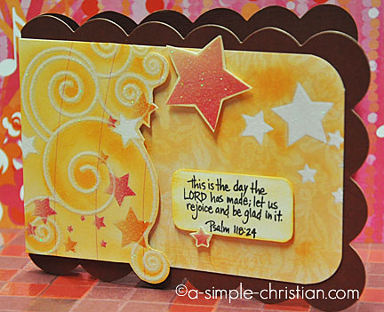 Birthday Cards Star Card