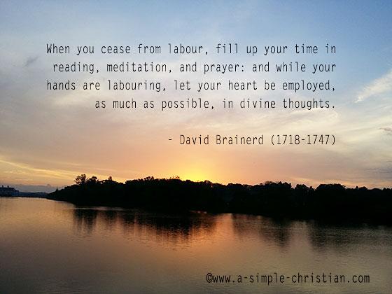 christian meditation/Christian Meditation at Sunrise