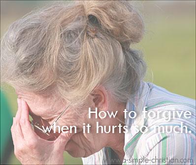forgiveness, how to forgive