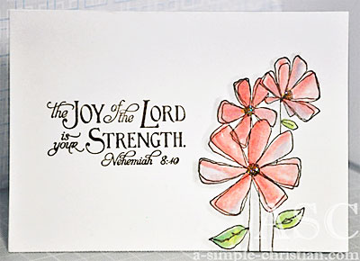 Christian friendship card for a friend m4hsunfo
