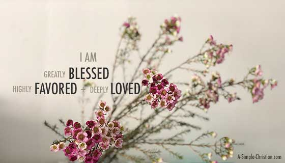 Flora Tan : Greatly Blessed, Highly Favored and Deeply Loved in the Beloved.