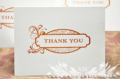 Handmade thank you card design for guest speakers thank you card thecheapjerseys Image collections