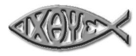 greek christian fish symbol
